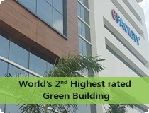World's 2nd Highest rated Green Building